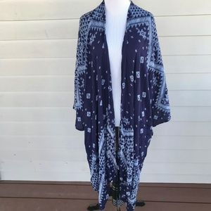 Soft Surroundings Women's Duster Kimono